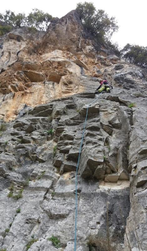 arrampicata in Val Pennavaire