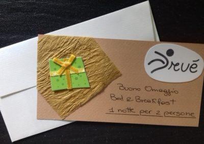 Gift card con cartoncini